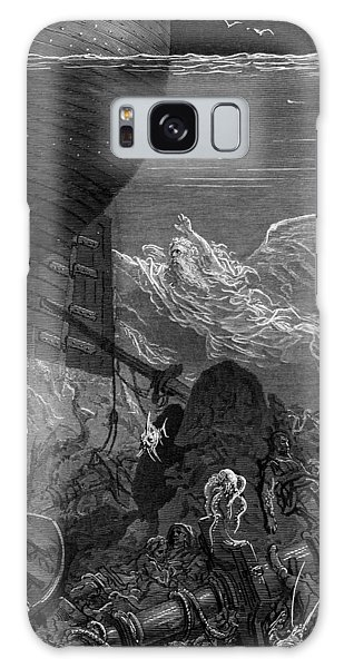 Shipwreck Galaxy Case - The Spirit That Had Followed The Ship From The Antartic by Gustave Dore