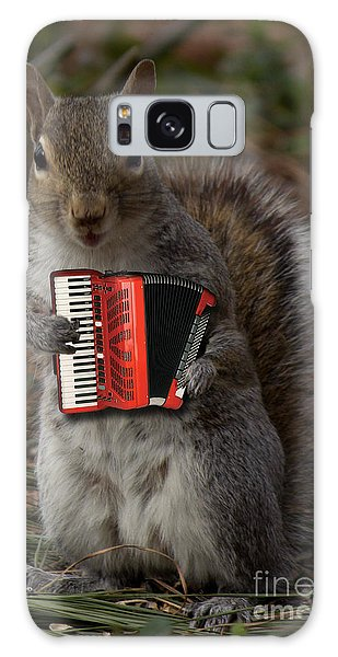 The Squirrel And His Accordion Galaxy Case
