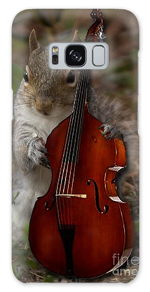 The Squirrel And His Double Bass Galaxy Case