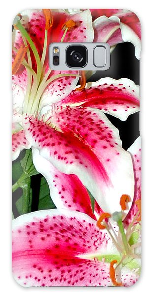 The Star Lily  Galaxy Case