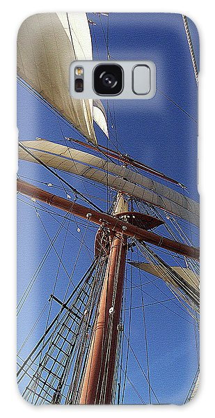 The Star Of India. Mast And Sails Galaxy Case