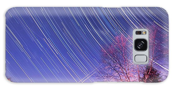 The Star Trails Galaxy Case by Paul Ge