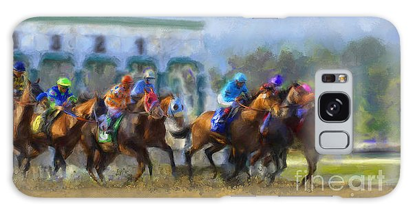 The Starting Gate Galaxy Case by Andrea Auletta