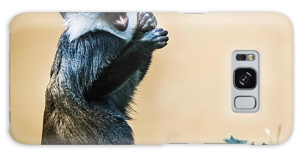 Galaxy Case featuring the photograph The Starving Ape by Stwayne Keubrick