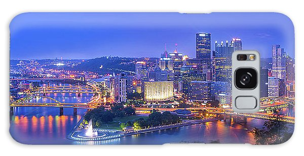 Long Exposure Galaxy Case - The Steel City by Michael Zheng