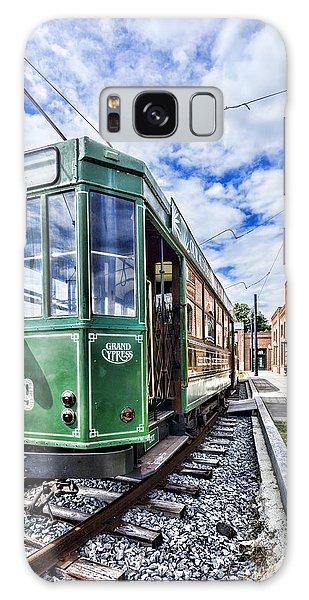 The Stib 1069 Streetcar At The National Capital Trolley Museum I Galaxy Case