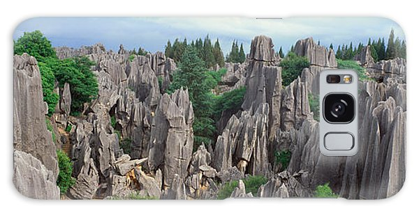 People's Republic Of China Galaxy Case - The Stone Forest Near Kunming, Peoples by Panoramic Images