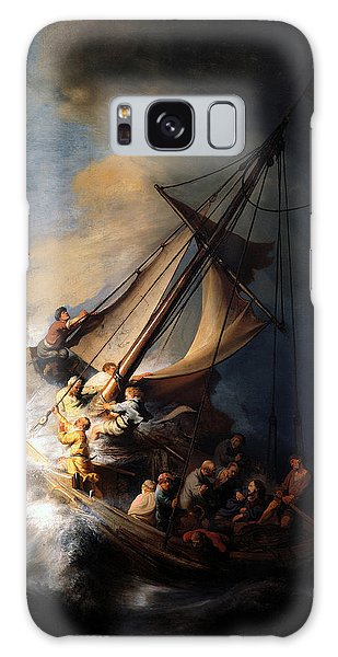 The Storm On The Sea Of Galilee Galaxy Case by Rembrandt
