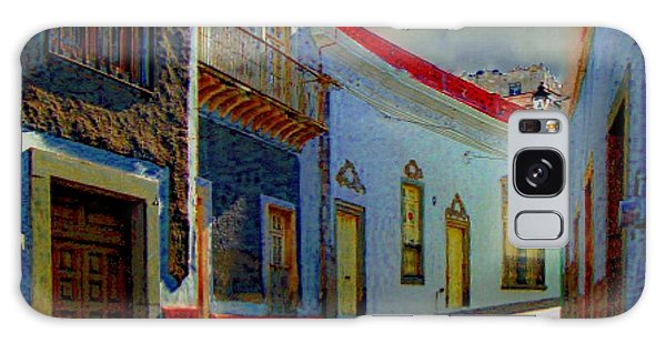 The Street To Diego Rivera's Parents House Galaxy Case by John  Kolenberg
