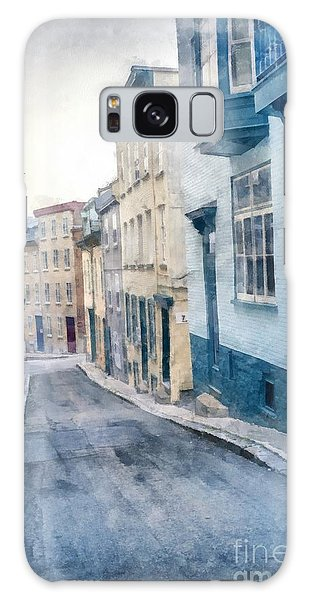 Quebec City Galaxy Case - The Streets Of Old Quebec City by Edward Fielding