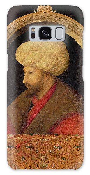 Turban Galaxy Case - The Sultan Mehmet II 1432-81 1480 Oil On Canvas by Gentile Bellini