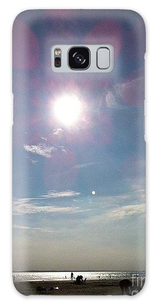 The Sun And The Moon - Witterings Sussex England Galaxy Case
