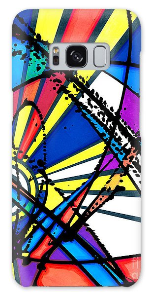 The Sun Card Galaxy Case