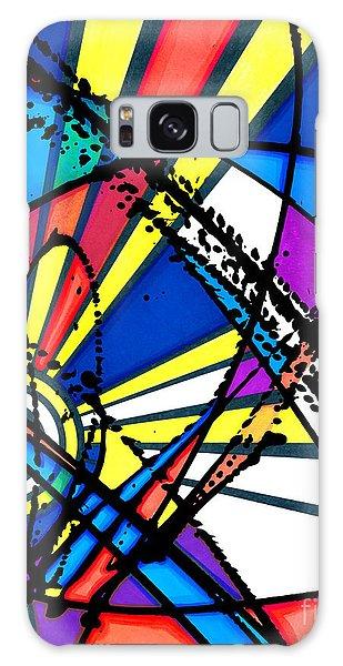The Sun Card Galaxy Case