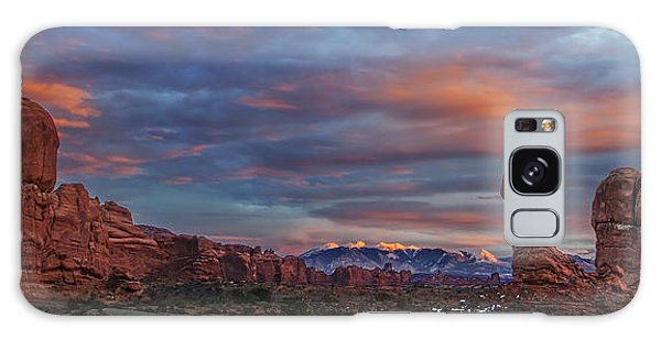The Sun Sets At Balanced Rock Galaxy Case