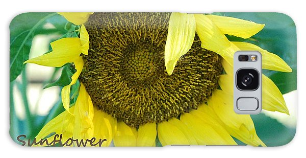 Sunflower Garden Galaxy Case