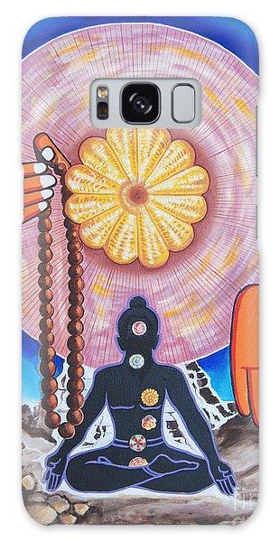 The Supreme Power Of Chakras Galaxy Case by Ragunath Venkatraman