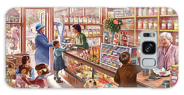Shelves Galaxy Case - The Sweetshop by MGL Meiklejohn Graphics Licensing