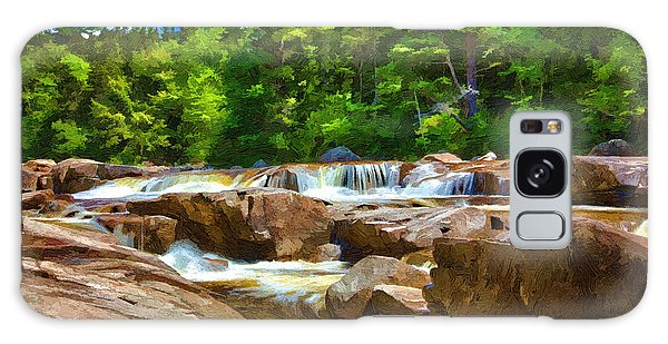 The Swift River Beside The Kancamagus Scenic Byway In New Hampshire Galaxy Case