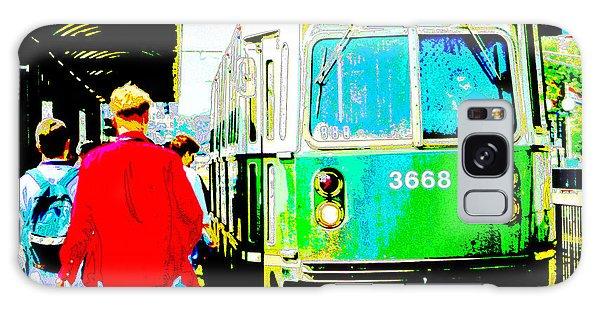 The T Trolley Boston Massachusetts Galaxy Case