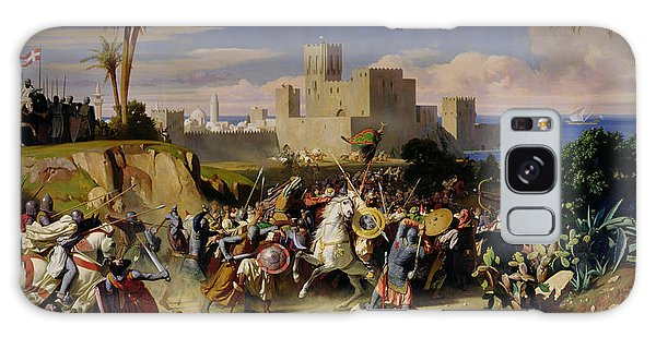 Islam Galaxy Case - The Taking Of Beirut By The Crusaders by Alexandre Jean Baptiste Hesse