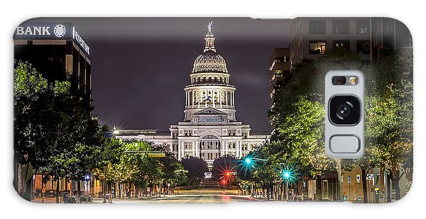 The Texas Capitol Building Galaxy Case
