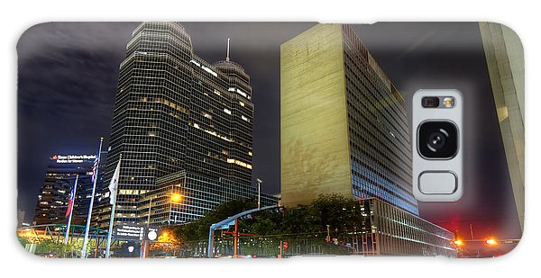 The Texas Medical Center At Night Galaxy Case