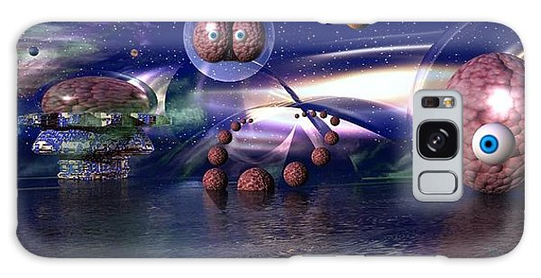 The Thinker Galaxy Case by Jacqueline Lloyd