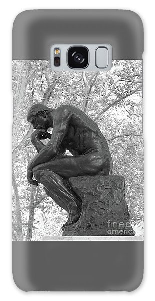 The Thinker - Philadelphia Bw Galaxy Case