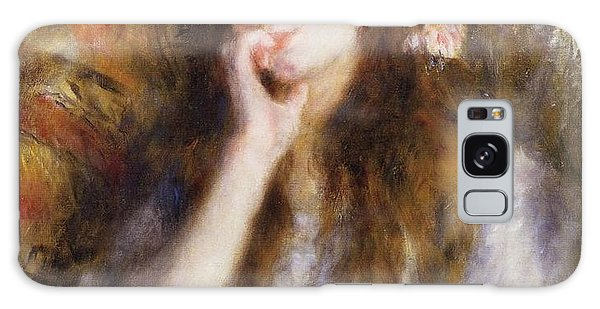 Art Institute Galaxy Case - The Thinker by Pierre-Auguste Renoir
