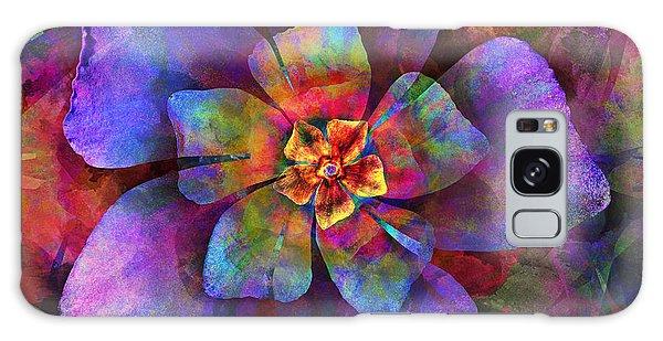 The Tiny Purple Flower Galaxy Case