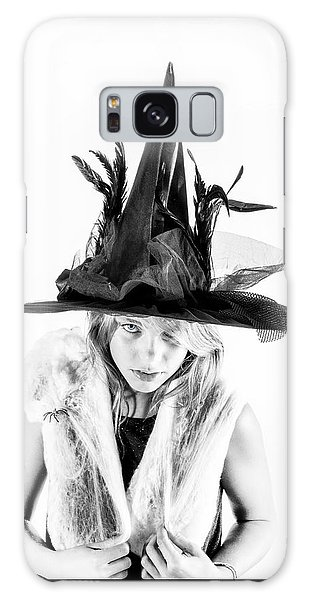 Galaxy Case featuring the photograph The Tiny Witch by Stwayne Keubrick