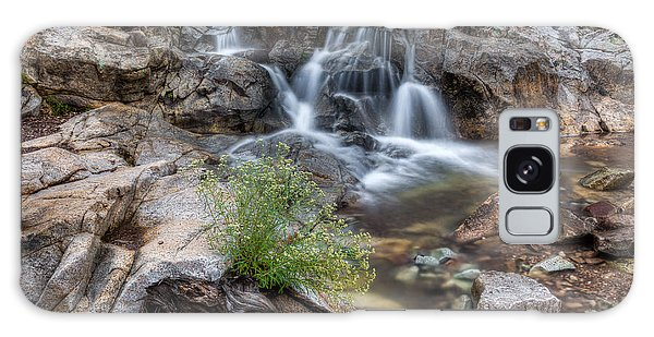 The Top Of Carr Canyon Falls Galaxy Case by Beverly Parks