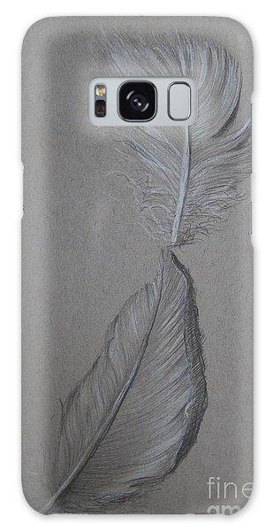 The Touch Galaxy Case by Iglika Milcheva-Godfrey