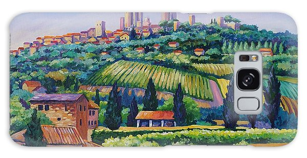 The Towers Of San Gimignano Galaxy S8 Case