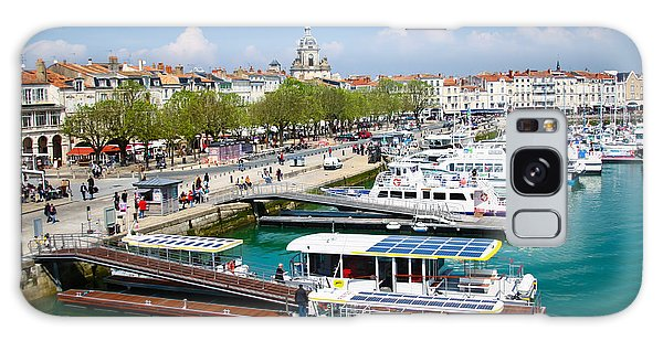 The Town And Port Of La Rochelle Galaxy Case