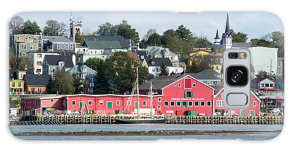 The Town Of Lunenburg Galaxy Case