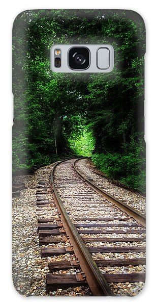 The Tracks Through The Woods Galaxy Case