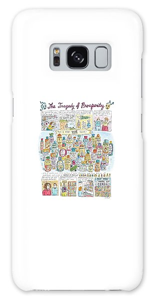 'the Tragedy Of Prosperity' Galaxy Case by Roz Chast