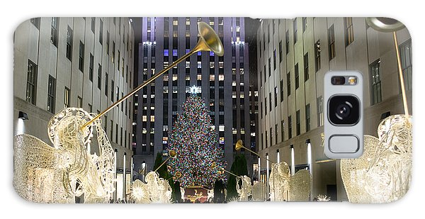 The Tree At Rockefeller Center Galaxy Case by Kenneth Cole