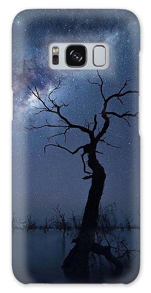 Australia Galaxy Case - The Tree by Jingshu Zhu
