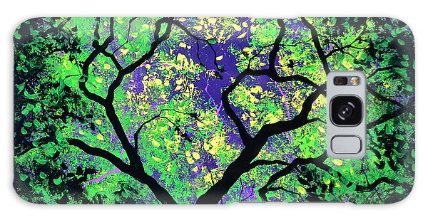 The Tree Of Life #2 In Black Light Galaxy Case