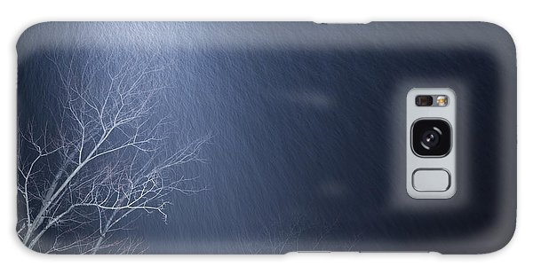 The Tree Under The Snowfall Galaxy Case