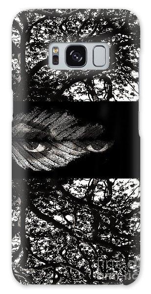 The Tree Watcher Galaxy Case by Nola Lee Kelsey