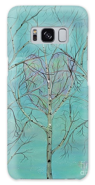 The Trees Speak To Me In Whispers Galaxy Case