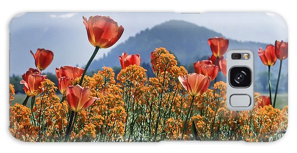 The Tulips In Bloom Galaxy Case