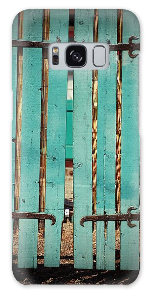 The Turquoise Gate Galaxy Case by Holly Blunkall