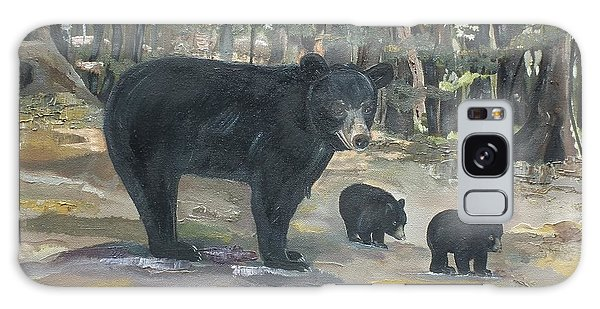Cubs - Bears - Goldilocks And The Three Bears Galaxy Case by Jan Dappen