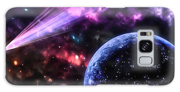 The Undiscovered Planet  Galaxy Case by Naomi Burgess