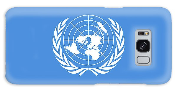 Olive Branch Galaxy Case - The United Nations Flag  Authentic Version by Bruce Stanfield